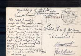 Hollum - Langebalk - Militair Verzonden - 1917 - Poststempel