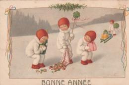 Enfants Dans La Neige.  Scan - Ebner, Pauli