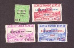 Tunisie  1941 - De 1934/1941 Surtaxés  Cond. MNH Série Complète - Neufs