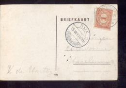 Rijk - Haarlemmermeer - Langebalk - 1913 - Poststempel