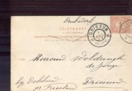 Driesum - 1904 - Storia Postale