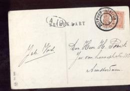Zuthphen - Station - 1909 Grootrond - Storia Postale