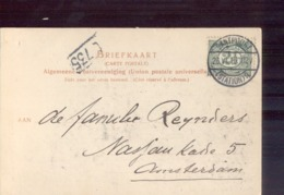 Santpoort Station 3 - 1916 - Poststempel