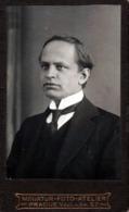 Photo Originale CDV Portrait D'Homme Tchèque De Prague - Praha - Miniatur-Foto-Atelier - Vacl. Nàm 57. - Photos