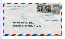 ENVELOPE CIRCULATED - TEGUCIGALPA, HONDURAS TO ROCHESTER, NEW YORK, U.S.A. YEAR 1949. AIR MAIL -LILHU - Honduras