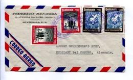 ENVELOPE CIRCULATED - GUATEMALA TO NEUSTADT BEI COBURG, GERMANY. YEAR 1957. AIR MAIL -LILHU - Guatemala