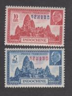 Colonies Françaises -Timbres Neufs** - Kouang -Tcheou - Pétain - N° 138 Et 139 - Unused Stamps
