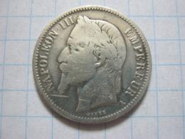 1 Franc 1866 (A) - H. 1 Franco