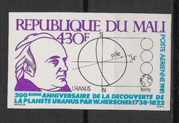 Mali - 1981 - PA N°Yv. 421 - Uranus - Non Dentelé / Imperf. - Neuf Luxe ** / MNH / Postfrisch - Afrika