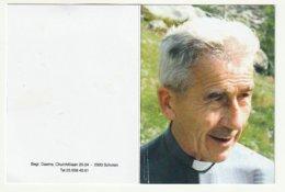 Doodsprentje Pater Hugo VERWIMP Missionaris Afrika Goma Jomba Witte Pater Berchem Heverlee Kongo Brussel 2009 - Images Religieuses