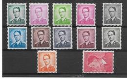 België  N° 1066/1075  Cote 365 Euro  Xx Postfris - 1953-1972 Occhiali
