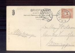 Dronrijp Grootrond - Wie ?? Wero Langebalk - 1913 - Marcophilie