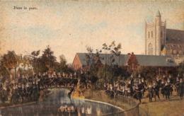 Wavre Notre Dame - Etablissement Des Ursulines  - Dans Le Parc (top Animatie, Gekleurd, E & B 1912) - Sint-Katelijne-Waver