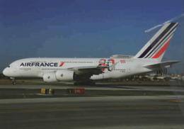 Air France Airlines 80° Ann. A380 F-HPJI Airways AirFrance At LAX Airplane - 1946-....: Era Moderna