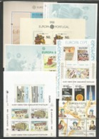 10 Stamps DIFFERENT - MNH - Europa-CEPT - Architecture - Cultures - Columbus - Europa-CEPT