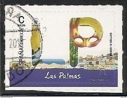 2017-ED. 5110 - 12 Meses, 12 Sellos. LAS PALMAS   -USADO - 1931-Today: 2nd Rep - ... Juan Carlos I