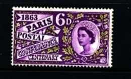 GREAT BRITAIN - 1963  PARIS  MINT NH - 1952-.... (Elisabetta II)