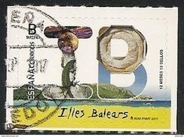 2017-ED. 5112 - 12 Meses, 12 Sellos. ILLES BALEARS  -USADO- - 1931-Today: 2nd Rep - ... Juan Carlos I