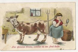 """90 - Les Cheveux Bruns, Comme Ils Me Font Belle """" Vache"""" - Humour"""