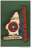 PROTECTION CIVILE - TOURNON *** 1044 - Pompiers