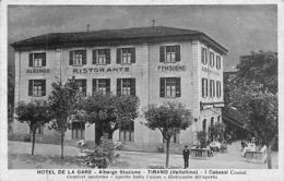 Tirano (Valtellina) - Hotel De La Gare - Albergo Stazione - I Cabassi (animation) - Unclassified
