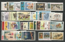 53 Stamps DIFFERENT - MNH - Europa-CEPT - Art - Cultures - 1981 - Europa-CEPT