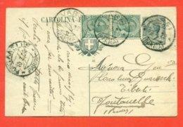 INTERI POSTALI - C 45/20 -  DA  VARZI PER FONTANELLE - 1900-44 Vittorio Emanuele III