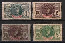 Mauritanie - 1906 - N°Yv. 1 - 2 - 3 - 4 - Faidherbe 1c / 2c / 4c / 5c - Neuf Luxe ** / MNH / Postfrisch - Neufs