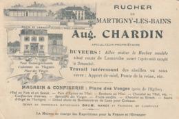 Martigny Les Bains - Rucher Aug. Chardin - Apiculteur - Route De Lamarche - Place Des Vosges - Autres Communes