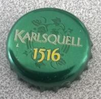 Portugal Capsule Bière Beer Crown Cap Karlsquell 1516 Brassée En France - Bier