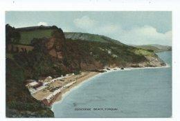 Devon Postcard Torquay Oddicombe Beach E.t.w.dennis Unused - Torquay