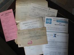 7 Documents Service De L'électricité Régie De L'électricité Ixelles, Intergaz Bruxelles , 1948-1967 - Électricité & Gaz