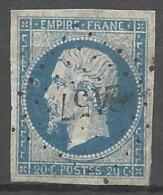 FRANCE - Oblitération Petits Chiffres LP 2157 MORESTEL (Isère) - 1849-1876: Periodo Classico