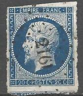 FRANCE - Oblitération Petits Chiffres LP 2161 MORGNY (Eure) - 1849-1876: Période Classique