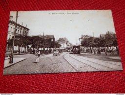 BRUXELLES -   Porte D' Anvers  -  1912 - Places, Squares