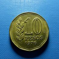 Argentina 10 Pesos 1976 - Argentine