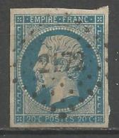 FRANCE - Oblitération Petits Chiffres LP 2172 MORTEAU (Doubs) - 1849-1876: Periodo Classico