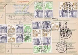 Paketkarte: 1982  Postzollamt, Zollfrei Basel. Von Köln Nach Basel, Burgen Und Schlösser Aus MH. H-Bl. 27 I - Altri - Europa