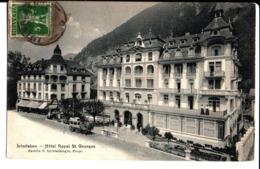 Interlaken Hôtel Royal St Georges. à Mme Marie Doré à Rouen. 1916. - BE Berne