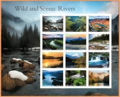 Etats-Unis / United States (Scott No.5381 - Wild And Scenic Rivers) [**] Sheetlet - Verenigde Staten