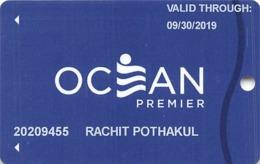 Ocean Resort Casino - Atlantic City NJ - Slot Card - Casino Cards