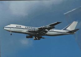 Air France Airlines B747 F-BPVB Airways AirFrance Airplane Franch - 1946-....: Era Moderna