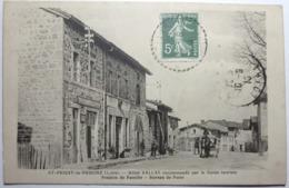 HÔTEL VALLAS RECOMMANDÉ PAR LE GUIDE-TOURISTE - PENSION DE FAMILLE - BUREAU DE POSTE - SAINT-PRIEST La PRUGNE - Sonstige Gemeinden