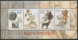 Ungarn 2004 Hunderassen Block 288 Postfrisch (C92719) - Blocks & Sheetlets