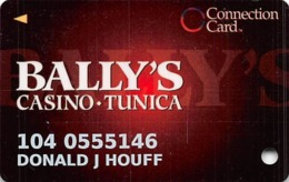 Bally's Casino Tunica, MS Connection Card Slot Card - Innovative Over Mag - Casino Cards