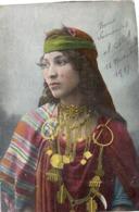 17  BEDOUINE  TUNISIENNE  1917 - Women