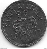 *notgeld Alsfeld 10 Pfennig 1917  Zn 155.2 / 10.2A/a - [ 2] 1871-1918 : Empire Allemand