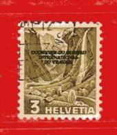Svizzera ° - 1944 - COURRIER DU BIT. - Zum.1 / Mi.1 / Unif. 248.  Usato - Servizio