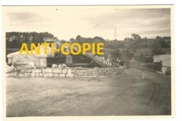 WW2 PHOTO ORIGINALE Pont Ko + Génie à COURCELLES SUR SEINE Près Gaillon Aubevoye Les Andelys EURE 27 Entre Vernon Rouen - 1939-45