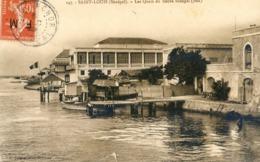 Afrique Occidentale - Sénegal - Saint Louis - Les Quais Du Fleuve Sénégal Sud - Senegal